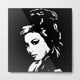 Portrait of Amy Metal Print