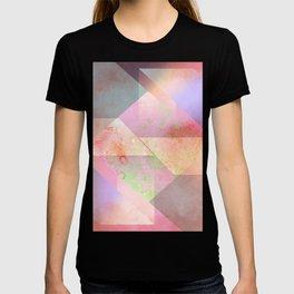 Layered Shapes Ink Splash 03 T-shirt