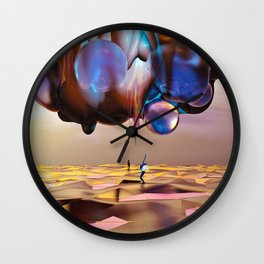 Frequency Shift Wall Clock