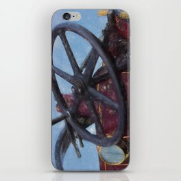 Steering in the right direction iPhone Skin