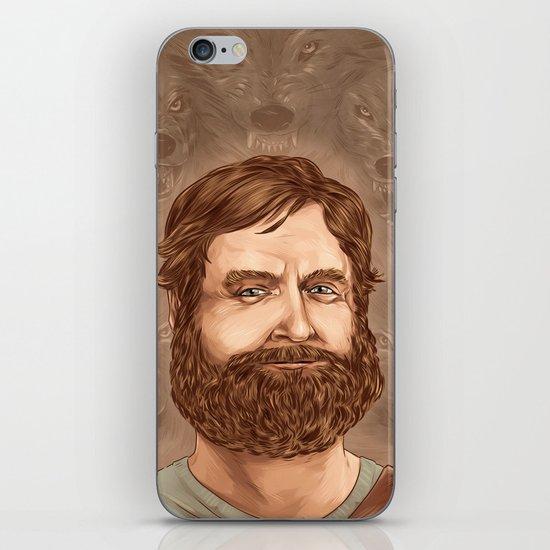 One man wolf pack iPhone & iPod Skin