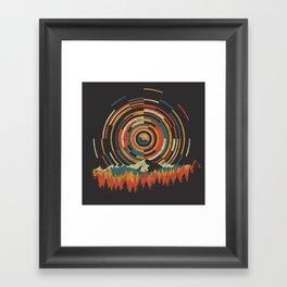 The Geometry of Sunrise Framed Art Print