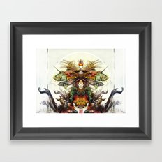 Deity Framed Art Print