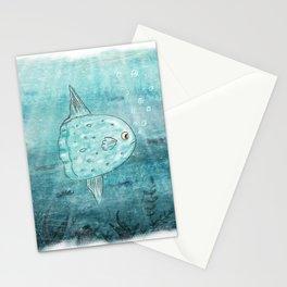 Sunfish Stationery Cards