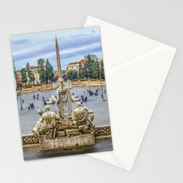 Piazza del Popolo, Rome, Italy Stationery Cards