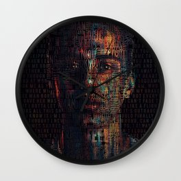 Logic - Nikki Poster Wall Clock