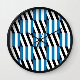Incomplete Zig Zag Wall Clock