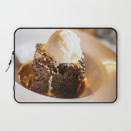 Sticky toffee pudding and ice-cream Laptop Sleeve