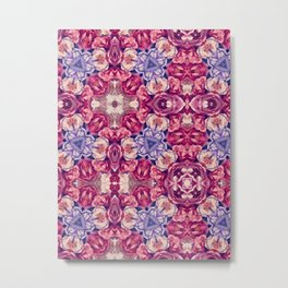 berry floral Metal Print