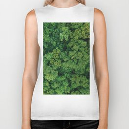 Greenery Forest (Color) Biker Tank