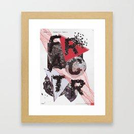 Fractr Framed Art Print