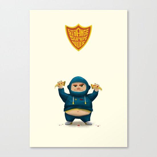 Fat Ninja Canvas Print