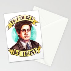 In Mulder We Trust Stationery Cards