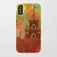 castle iPhone & iPod Cases featuring Castle by Ingrid Castile