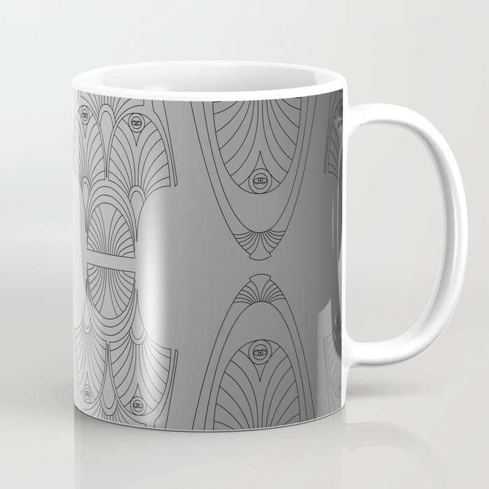 silver night star Coffee Mug