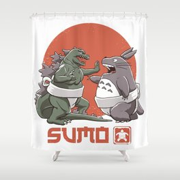 Sumo Shower Curtain
