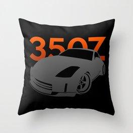 Nissan 350Z Throw Pillow