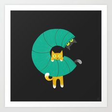 C for Cats Art Print