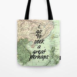 A Great Perhaps Tote Bag