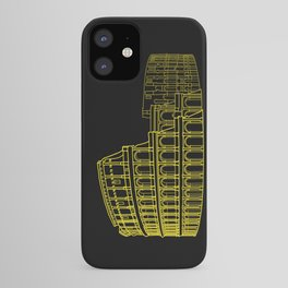 Colosseum in Gold iPhone Case