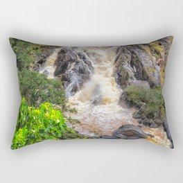 Waterfall in the rainforest Rectangular Pillow