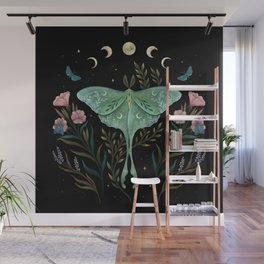 Luna and Forester Wall Mural