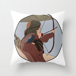 Drop him! Throw Pillow