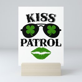 Kiss Patrol Mini Art Print