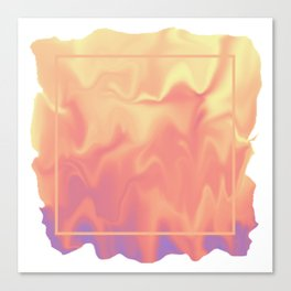 melting colors Canvas Print