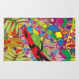 Happy Birds - Lorikeet Rug
