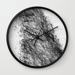 Abstract Connection Wall Clock
