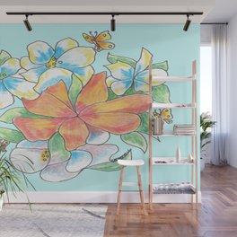"""Tropical Fun"" Wall Mural"