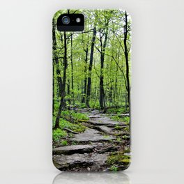 Lead and I will Follow You into the Woods by Reay of Light iPhone Case