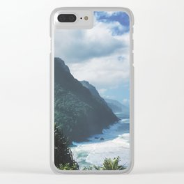 Na Pali Coast Kauai Hawaii Clear iPhone Case