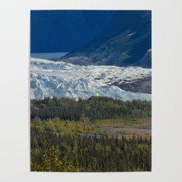 Matanuska Glacier, Alaska - Summer Poster