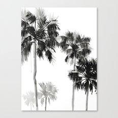 Paradis Noir I Canvas Print
