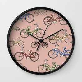 Leisure Bike Ride Wall Clock