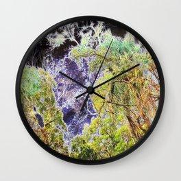 Bioluminescence Wall Clock