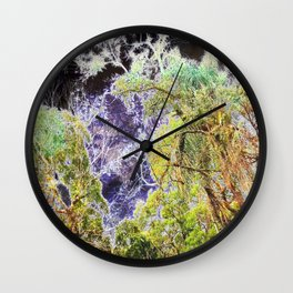 Bioluminescence Wall Clock