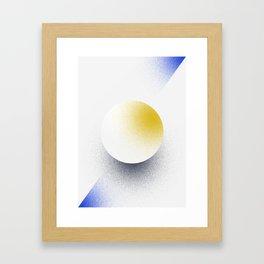 Shape Studies: Circle VI Framed Art Print