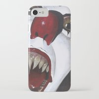 pennywise iPhone & iPod Cases featuring Pennywise by Kristen Champion