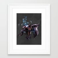 magneto Framed Art Prints featuring Magneto  by Bigcookben