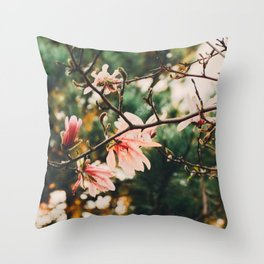 Nature Wallpaper Throw Pillow