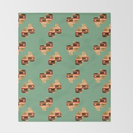 Yugo Love Throw Blanket