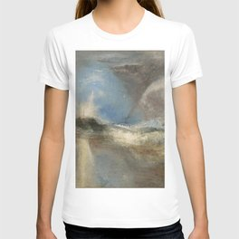 "J.M.W. Turner ""Rockets and Blue Lights (Close at Hand) to Warn Steam Boats of Shoal"" T-shirt"