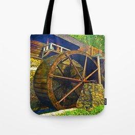 Gristmill Water Wheel Tote Bag
