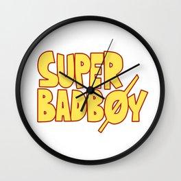 Super Bad boy - Natsu Wall Clock