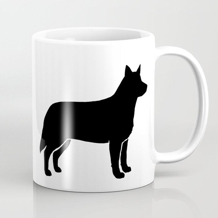 Australian Cattle Dog Silhouette S Coffee Mug