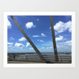 Bridge in the Sun Art Print