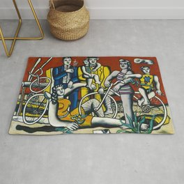 Man in the New Age by Fernand Leger Rug